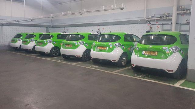 100 רכבי אוטותל חשמליים נוספים בתל אביב-יפו